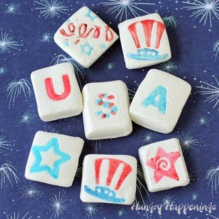 Fun 4th of July Marshmallows – and 101 Kids Activities