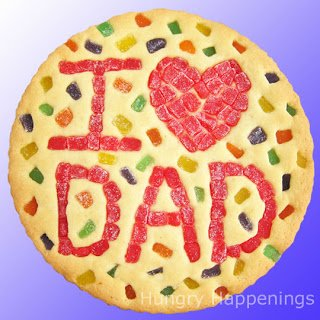 Fun Food for Father's Day - 1 Love Dad Cookie | Hungry Happenings