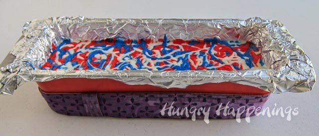 Red, white and blue cake recipe | HungryHappenings.com
