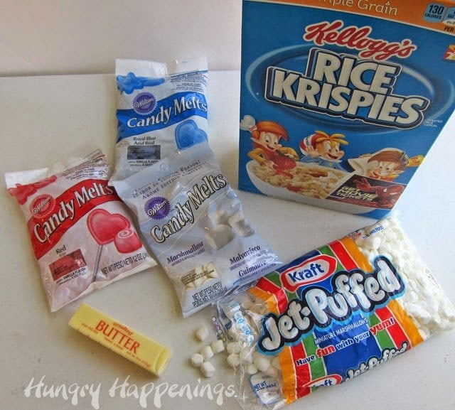 White Chocolate Rice Krispie Treats Ingredients