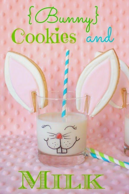 Decorated Cookies - Bunny Ear Cookies
