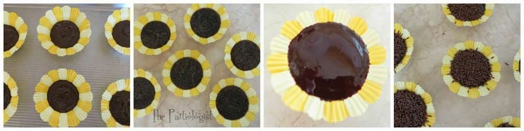 Sunflower Brownies