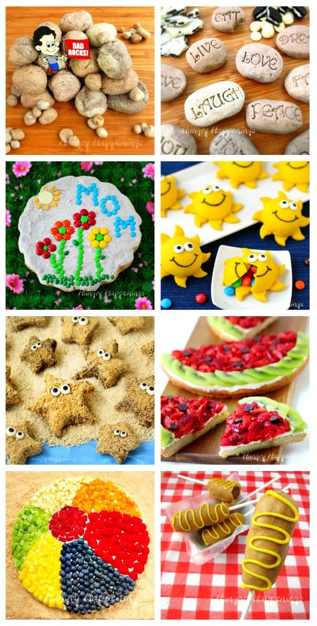 This summer have fun in the kitchen making cool food crafts. See the recipes at HungryHappenings.com.