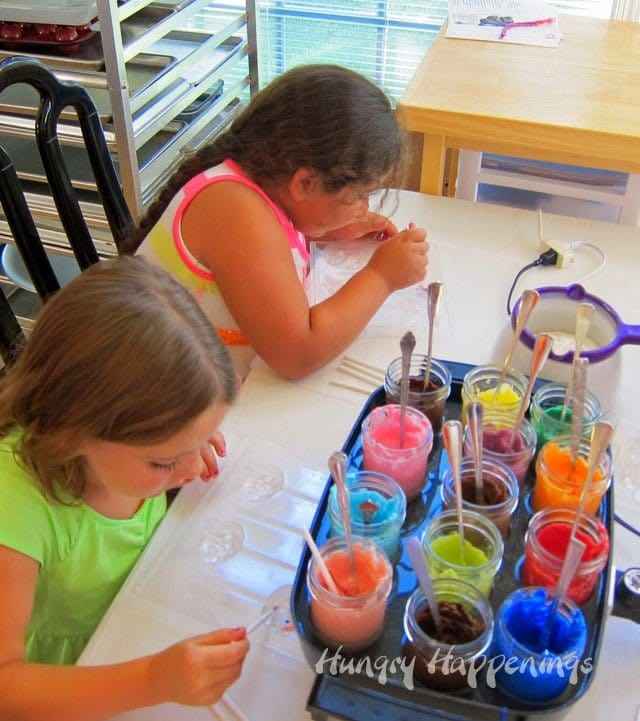 kids candy-making party