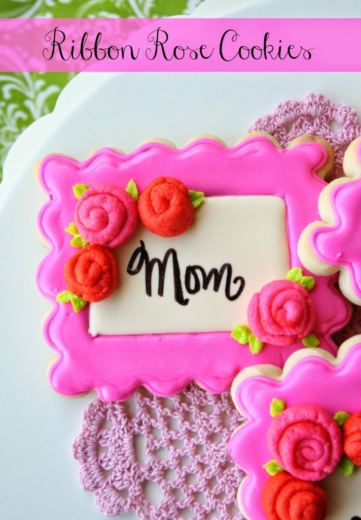 Decorated Cookies for Mother's Day