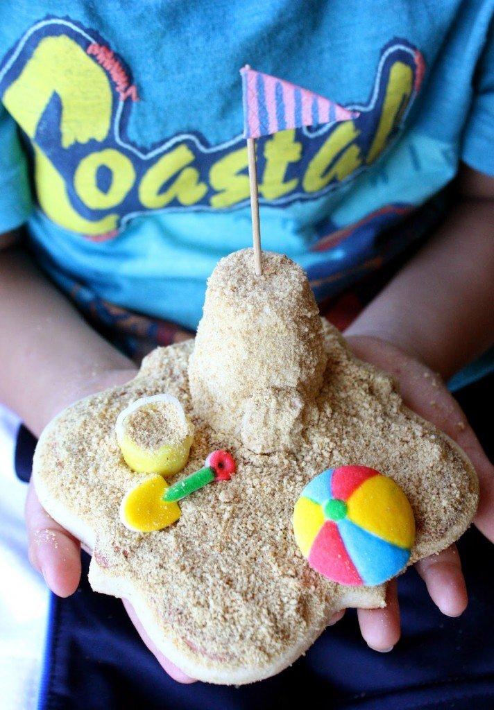 Sandcastle Cookies