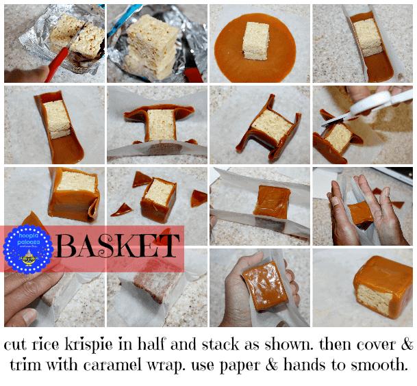 How to Make Rice Krispie Treat Picnic Baskets