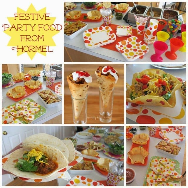 Festive Party Food Featuring Hormel | HungryHappenings.com