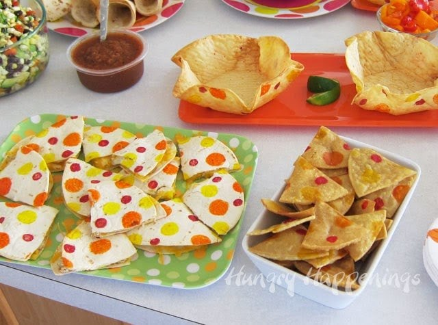 Polka Dot Party Food | HungryHappenings.com