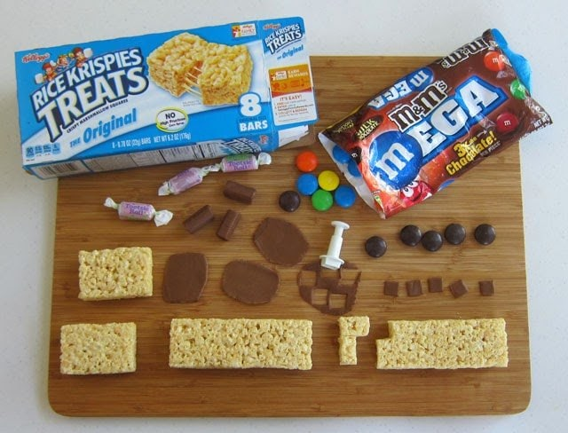 Decorated Rice Krispie Treats