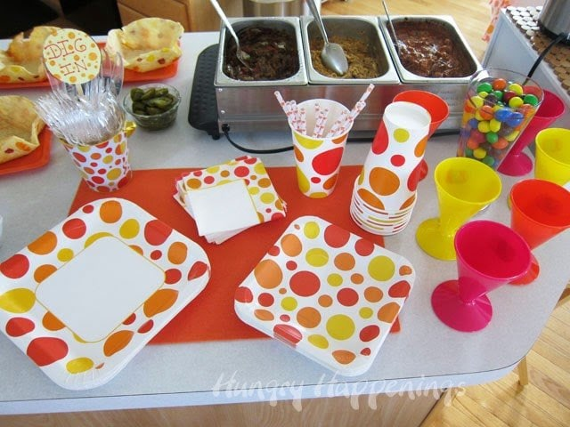 Festive Party Food and Decor | HungryHappenings.com