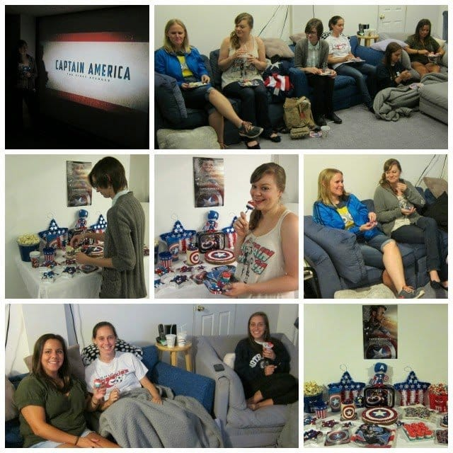 Captain America Party | HungryHappenings.com