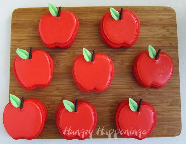 Apple Cookies with candy inside