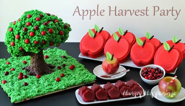 Apple Harvest Party Dessert Ideas