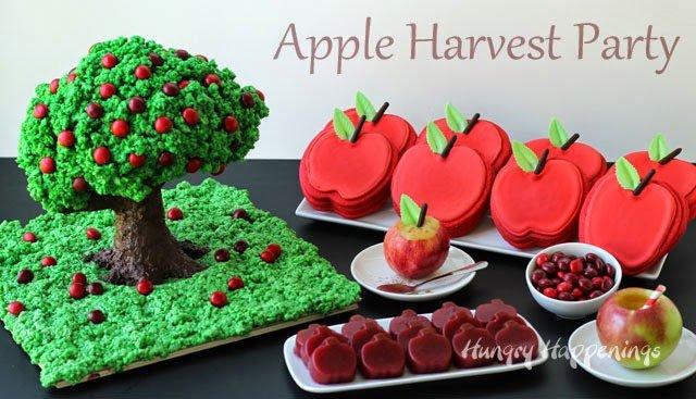 Apple Harvest Party Dessert Ideas