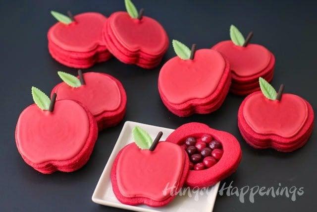 Decorated Apple Pinata Cookies