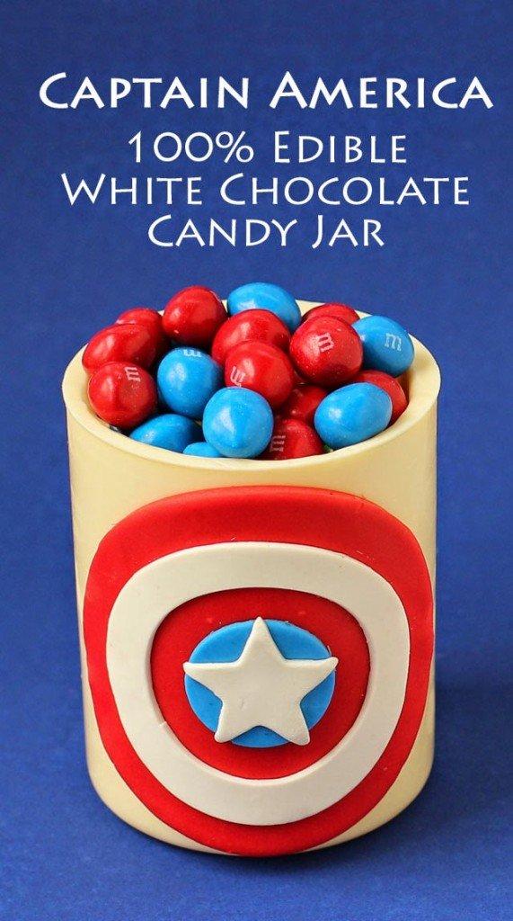 chocolate candy jar