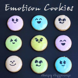 Emoji Cookies and Mega M&M Emojis