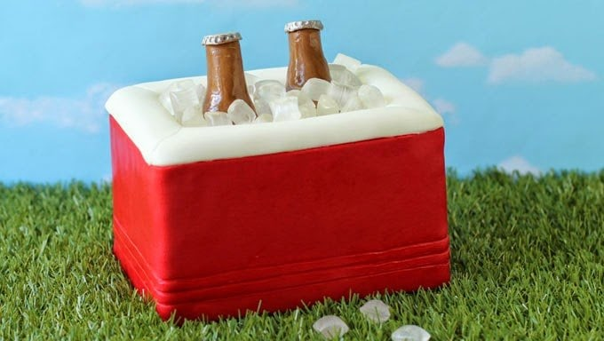 how to make cooler cake