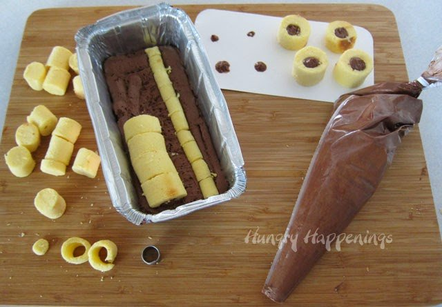 Polka Dot Pound Cake