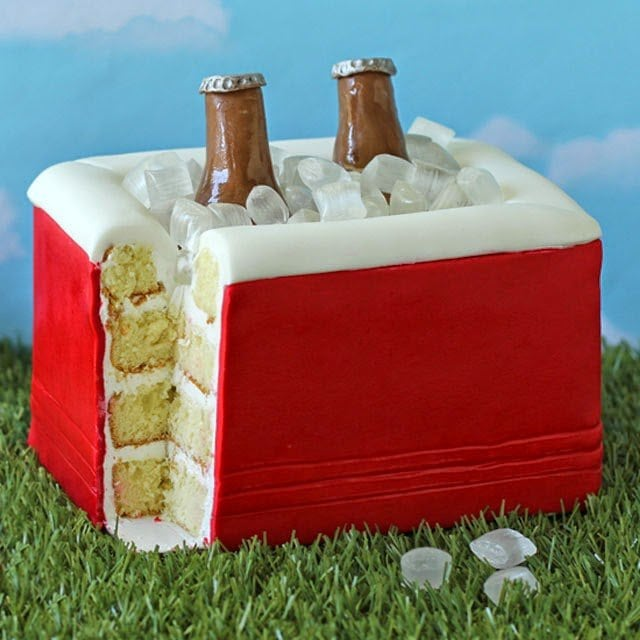 Cooler Cake | HungryHappenings.com