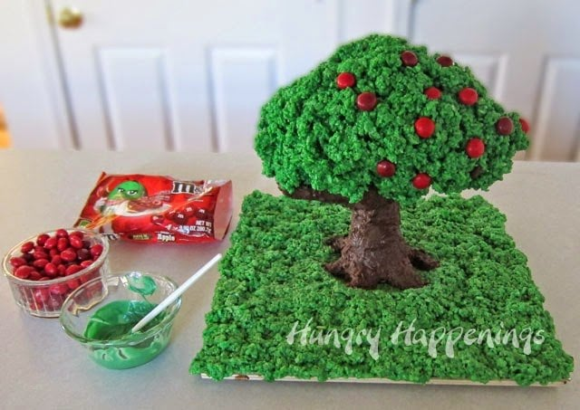 Rice Krispie Treat decoration