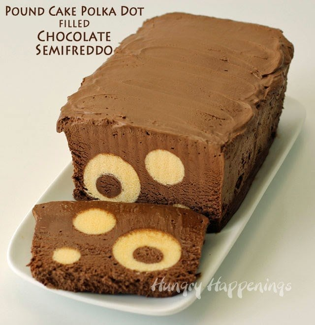 Polka Dot Pound Cake recipe