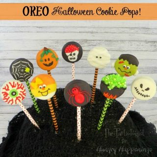 Halloween Oreo Cookie Pops