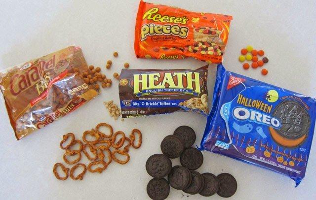 Halloween Popcorn Ingredients
