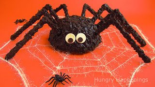 Spider Cake for Halloween