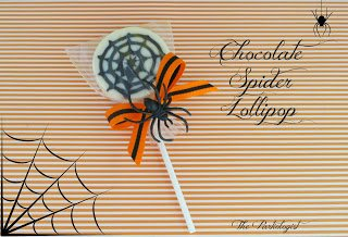 Spider Lollipop www.ThePartiologist.com