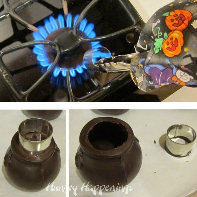 Chocolate Witch's Cauldrons