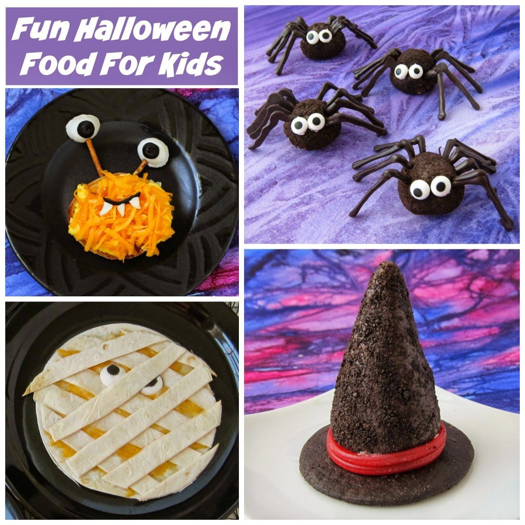 fun halloween food for kids - hungry happenings