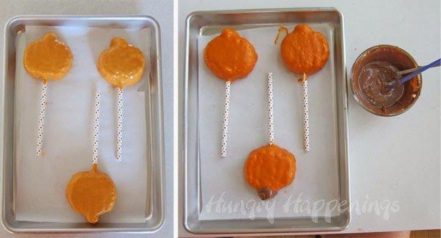 Halloween Rice Krispie Treats | HungryHappenings.com