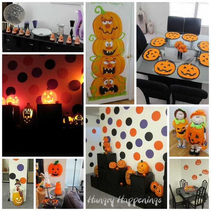 pumpkin party decorations for halloween