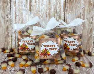 Simple & Silly Thanksgiving Treats www.ThePartiologist.com