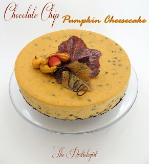 Pumpkin Cheesecake www.ThePartiologist.com