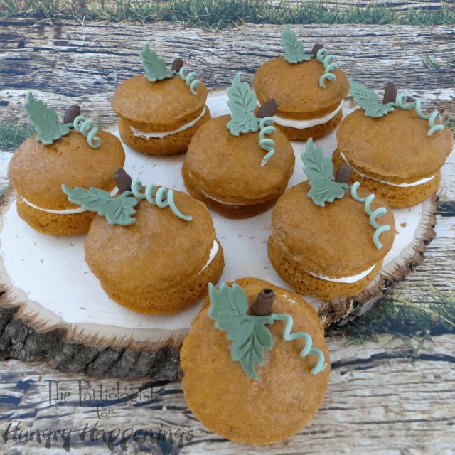 Whoopie Pie Pumpkins  www.ThePartiologist.com
