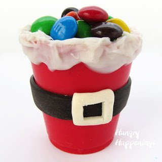 M&M candy crafts for Christmas