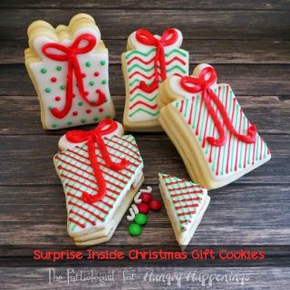 Surprise Inside Christmas Gift Cookies
