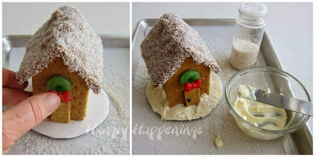 Easy Graham Cracker House | HungryHappenings.com