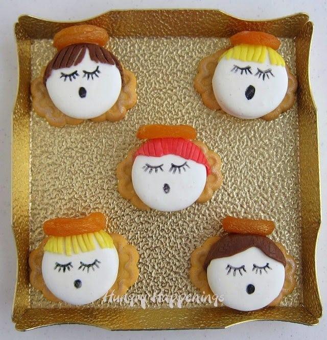 Sweet Oreo Angels   HungryHappenings.com