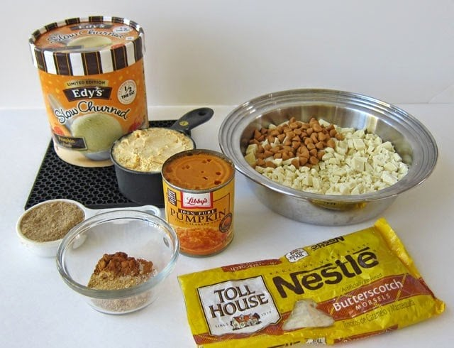 Pumpkin Truffles Recipe Ingredients