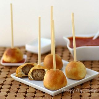 Turn Farm Rich Meatballs into Lasagna Lollipops for an Easy Holiday Appetizer