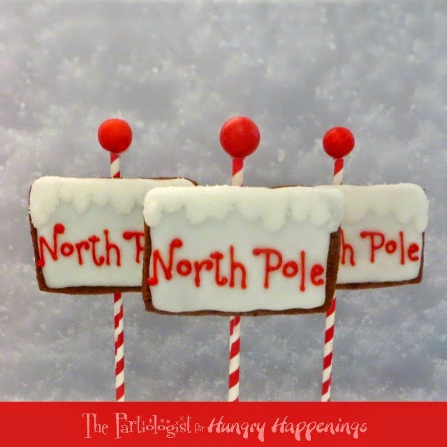 Merry Christmas Everyone! It's Kim, The Partiologist, back with a couple more Christmas Cookies. With not much time before Christmas, I decided to show you how to make a North Pole Cookies plus an easy Chocolate Covered OREO, Christmas style! Christmas Cookies!