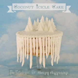 Coconut Icicle Cake