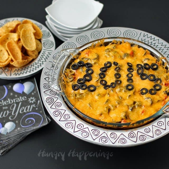 New Year S Eve Party Appetizer Recipe Taco Dip Hungry Happenings