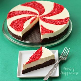 Peppermint Swirl Mousse Cake & Peppermint Brookies- Holiday Recipes