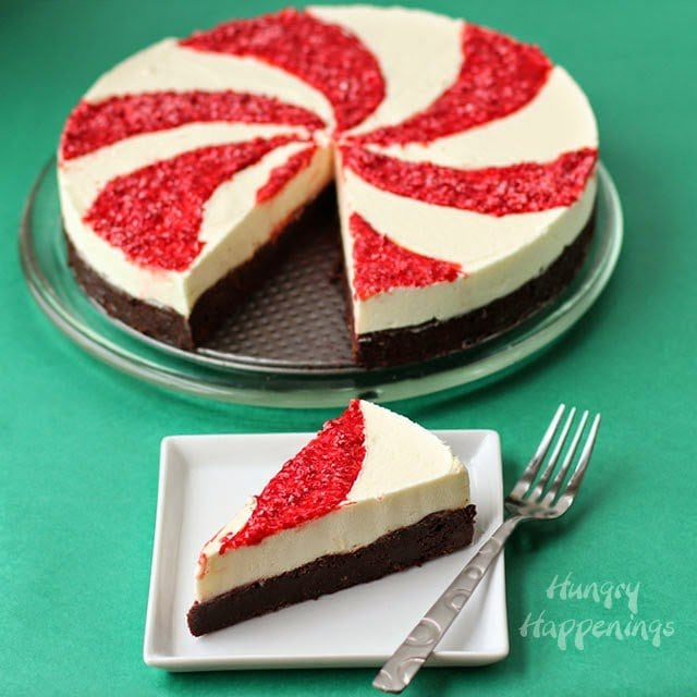 Over the holiday weekend, I served party guests the most amazing Peppermint Swirl Mousse Cake made using Nestle products and am sharing the recipe with you today as part of a #CollectiveBias sponsored campaign. #HolidayMadeSimple