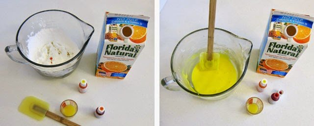 how to make orange glaze